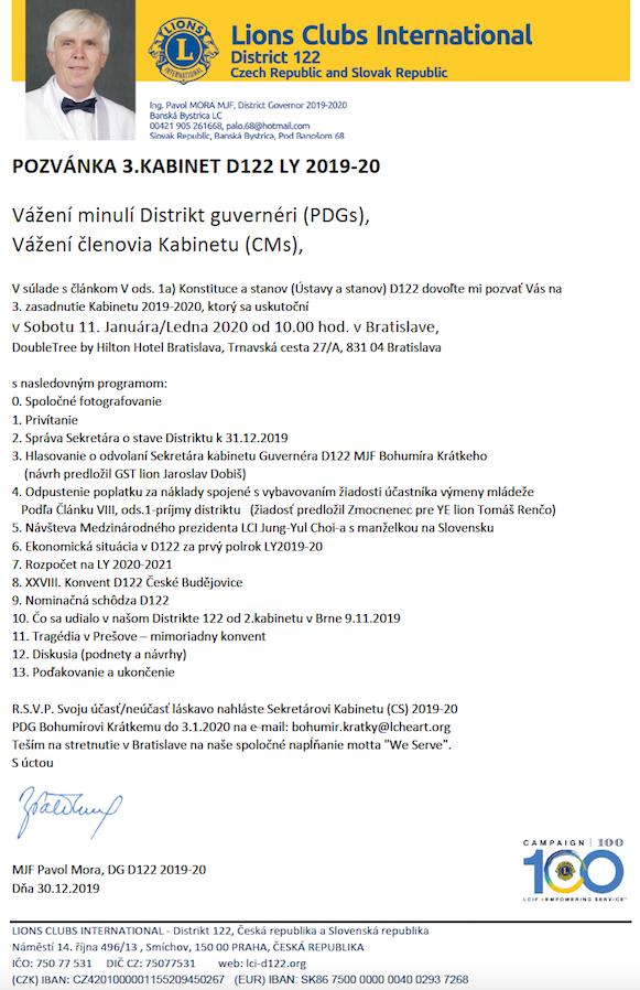 Program 3.kabinet 2019-2020