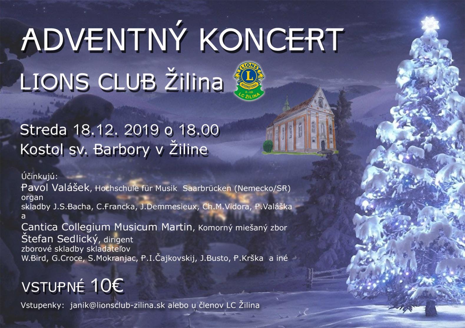 Adventný organový koncert