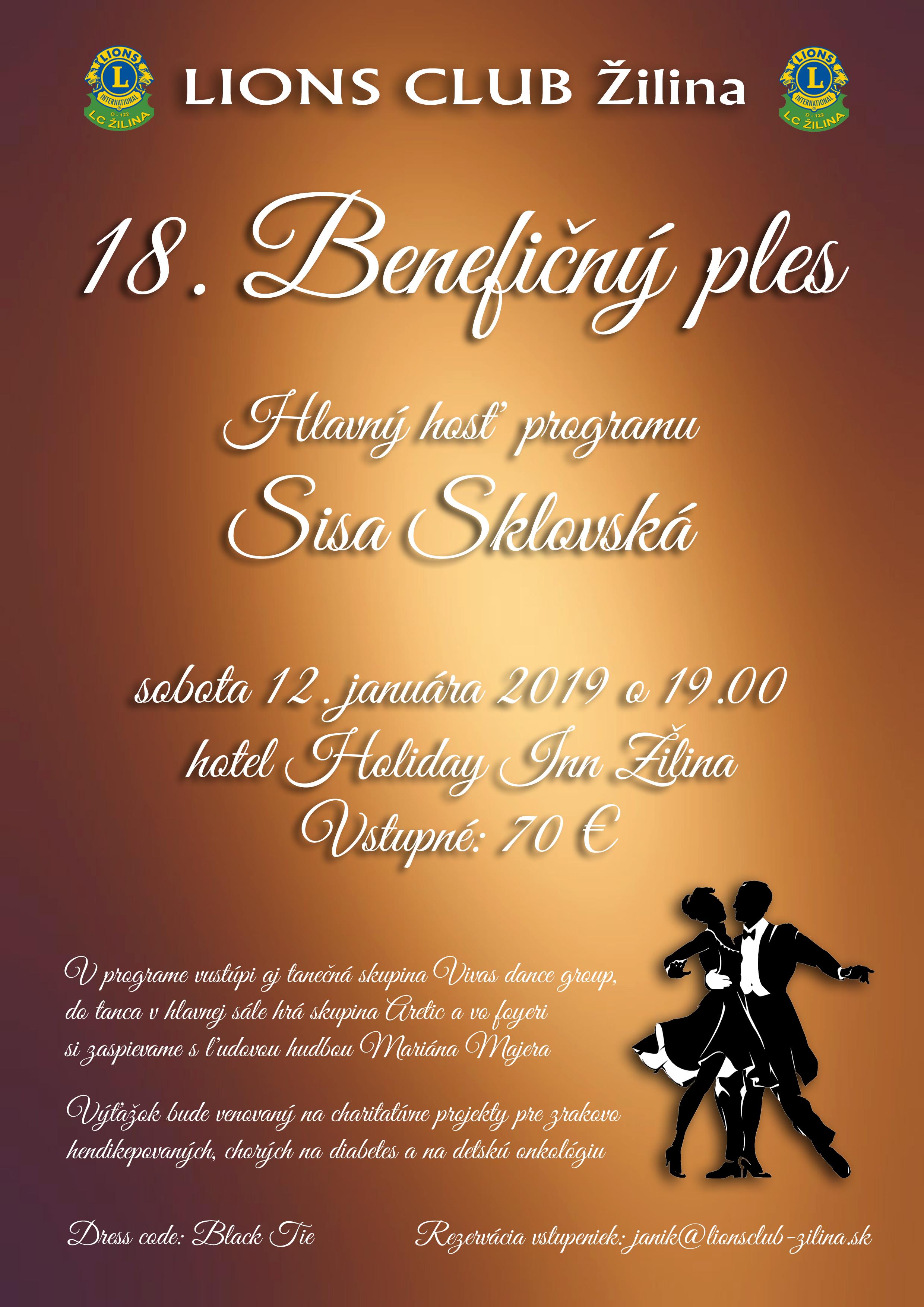 Ples LC Žilina 2019