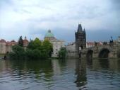 Klášter křižovníků a Staroměstská mostecká věž