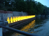 Večerní Vltava nabízí nevšední setkání
