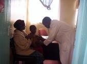 Vyšetření dítěte lékařem