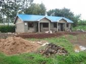 Ze stavby lékařského domu