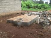 Nový septik lékařského domu