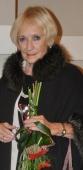 Paní Běla Jensen, účatnice koncertu