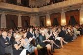 Vyprodaný sál plzeńské Měšťanské besedy